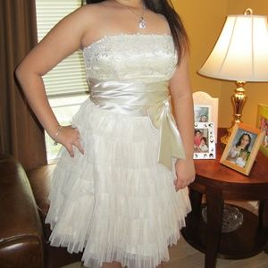 Strapless Junior Party/Formal Dress by Masquerade